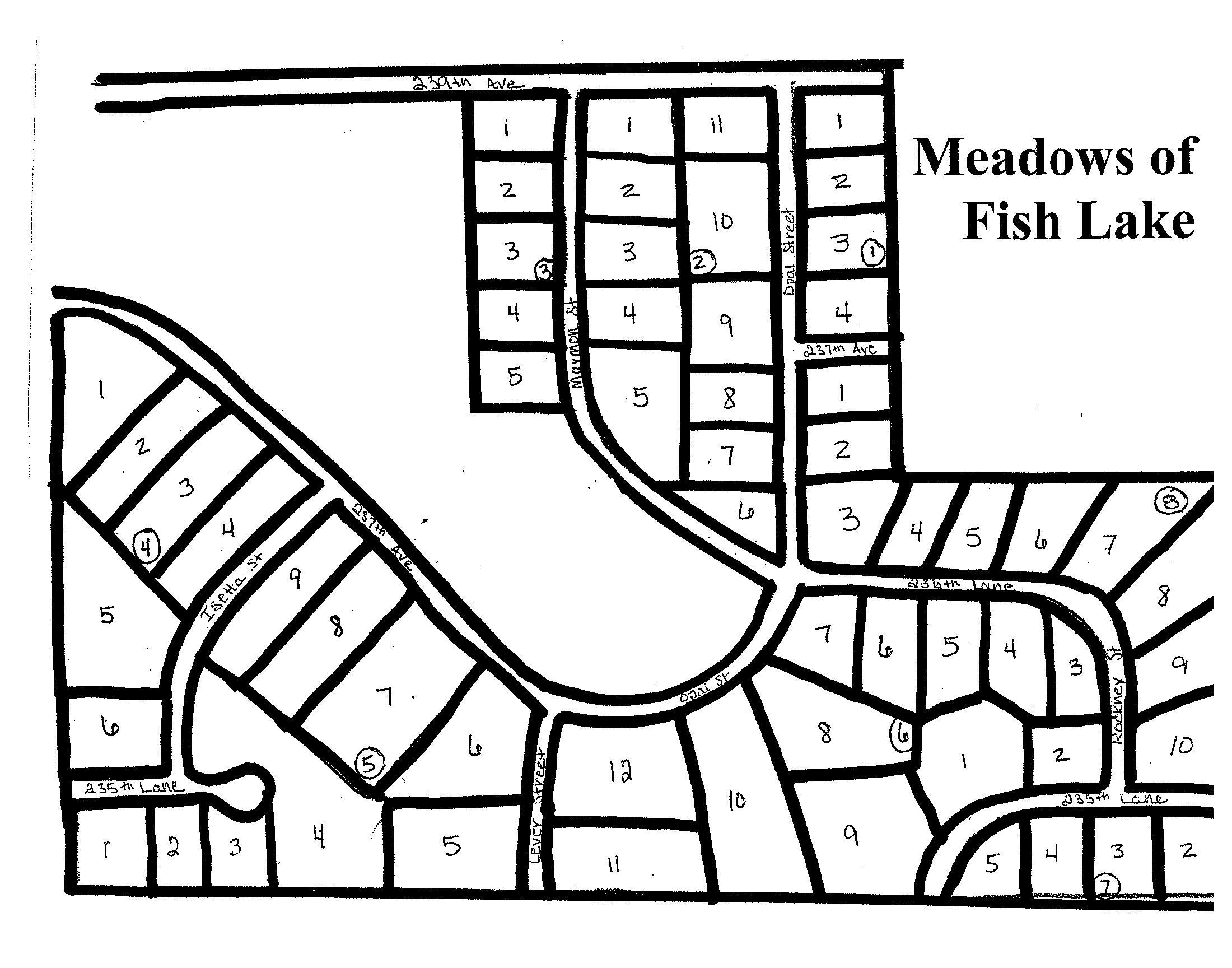 Meadows of Fish Lake plat